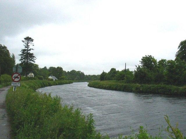 Crinan Canal at Ardrishaig.