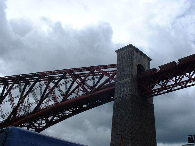 Freight Train on Forth Bridge