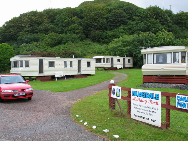 Muasdale Holiday Park.