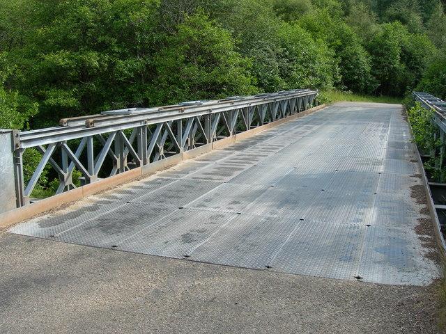 Bailey Bridge to Corrimony