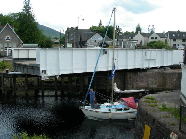 Swing Bridge at Fort Augustus