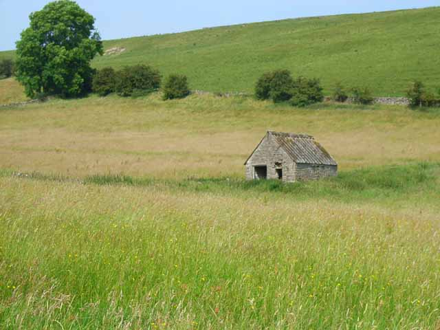 Barn near Wetton