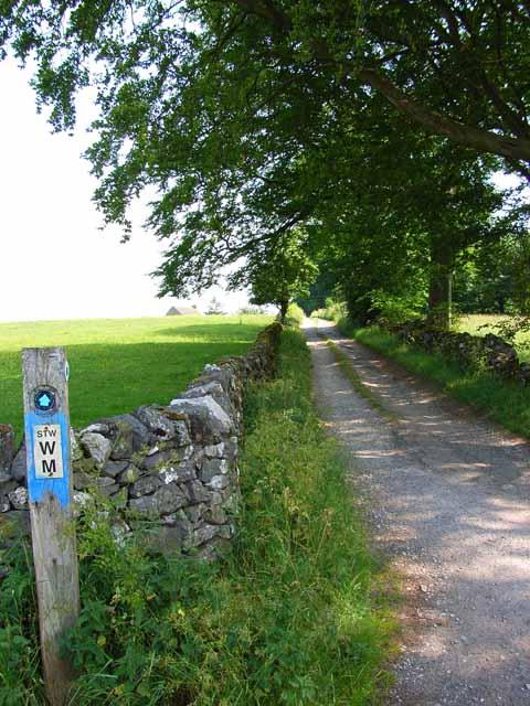 Bridleway near Alstonefield