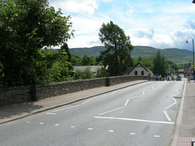 Bridge across the River Oich