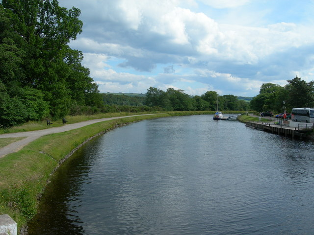 Caledonian Canal at  A82