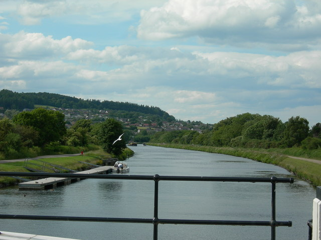 Caledonian Canal at  A82 (2)