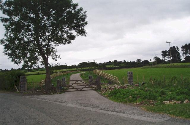 Driveway to Cilcain Hall