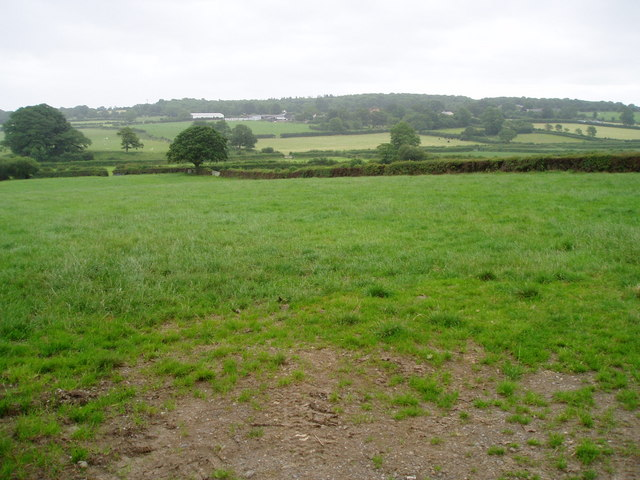 Farmland in Cilcain