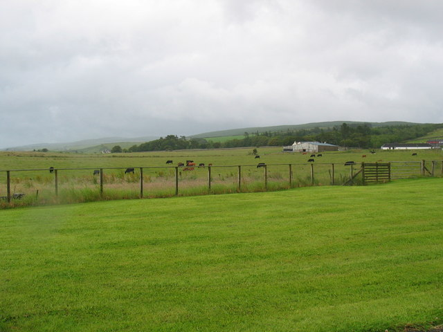 Farmland next to Rosehill, Glenbarr.