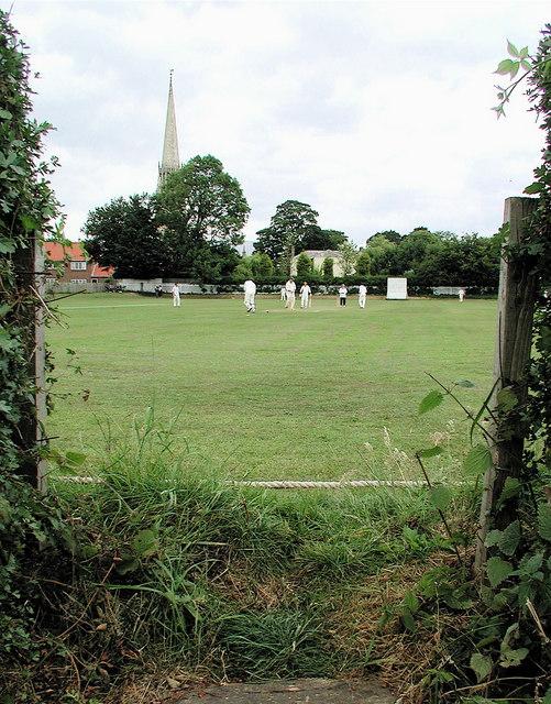 Village cricket, Patrington
