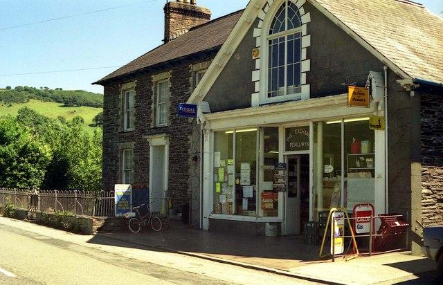 Exchange Stores, Penllwyn (Capel Bangor)