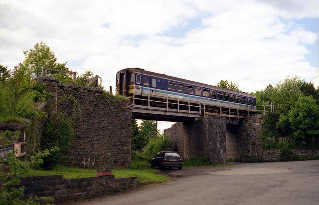 Railway Bridge, Builth Road