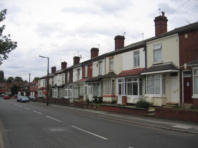 Vicarage Road, Hall End