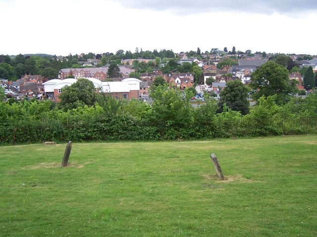 View from Dodderhill churchyard