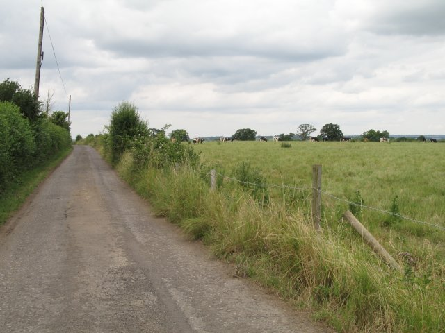 Lane to Pudnell House Farm