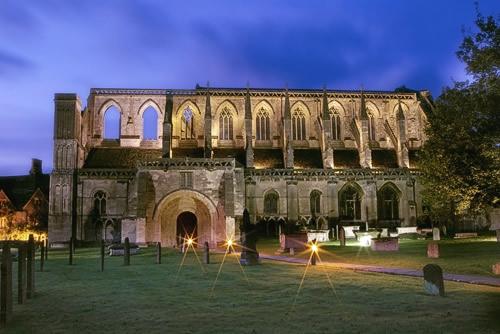 Illuminated Abbey