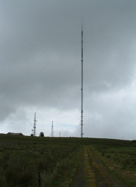 Blackhill TV transmitter