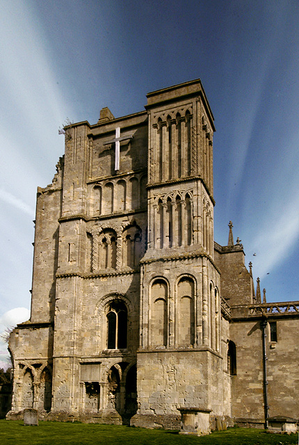 Malmesbury Abbey - West Face