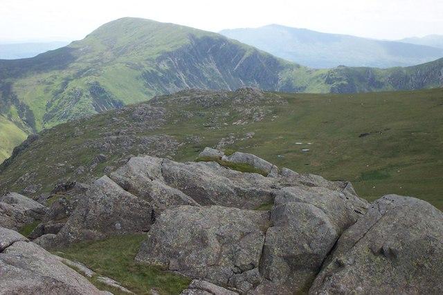 Craig Eigiau ridge