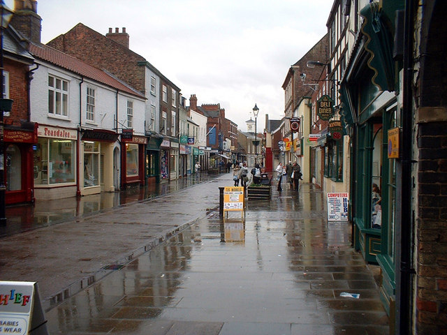 Wet Day in Brigg