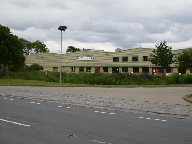 Vegetable processing factory near Newport
