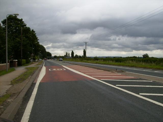 A63 road near Newport