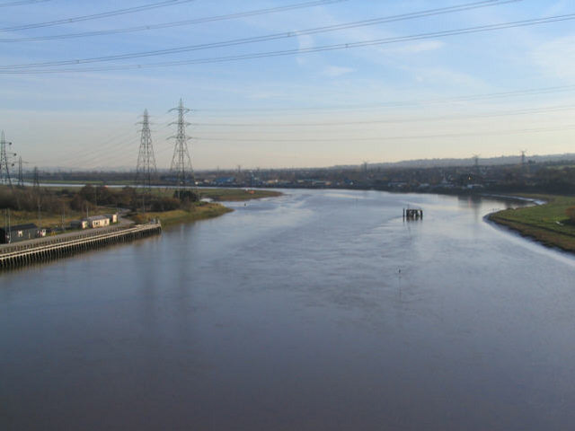 River Dee by Connah's Quay