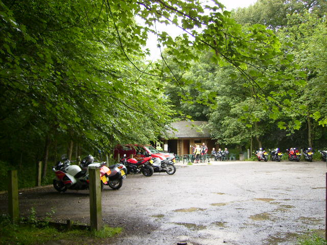Popular Cafe in the wood near Fimber roundabout