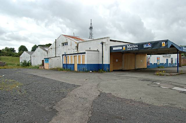 Old Martex building, Cupar
