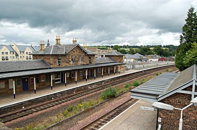 Cupar Railway Station