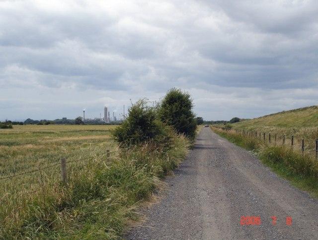 Lordship Lane, across Frodsham Marsh