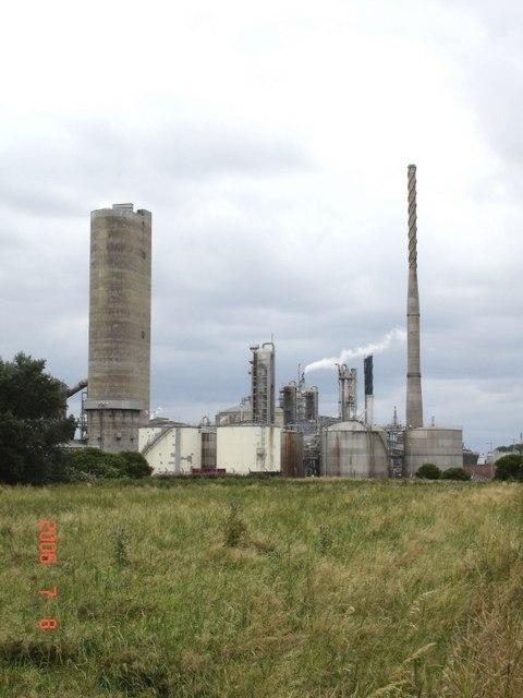 Kemira GrowHow fertiliser plant, Ince