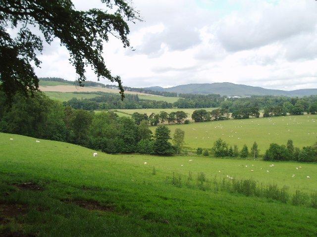 Farmland, Peeblesshire