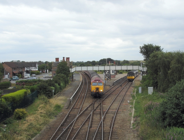 Helsby Station