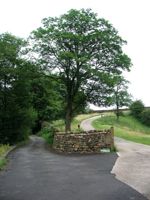Dean House Farm Entrance.