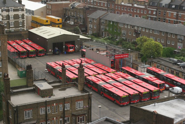 Waterloo Bus Garage