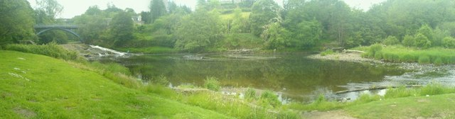 Panoramic view of Millheugh