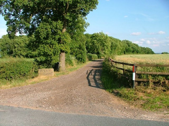 Track to Mount Pleasant Farm