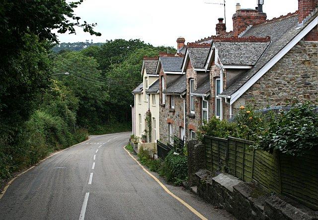 Terrace of Cottages at Mylor Bridge