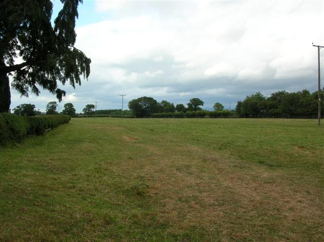 Field next to Dalton Church
