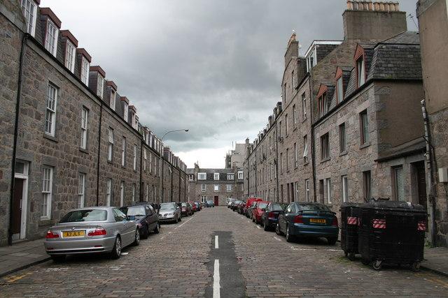 Cobbled Craigie Street