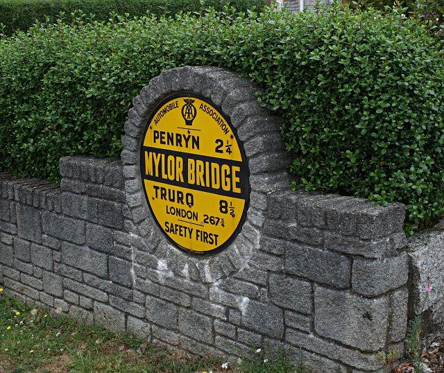 AA Village Sign