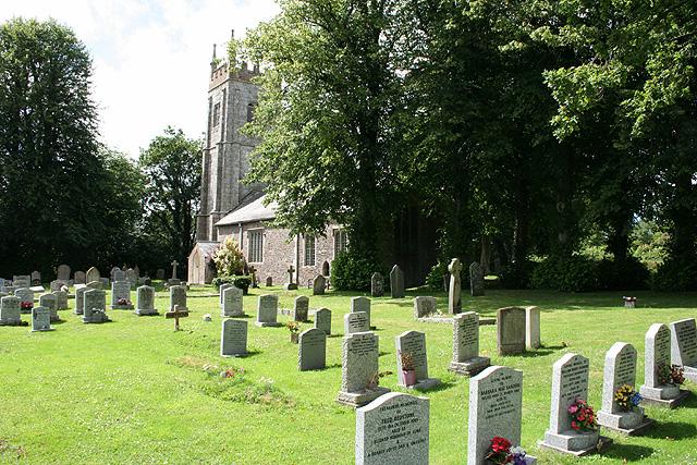 Spreyton: St Michael's church