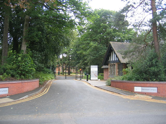 Entrance to Handsworth Hall