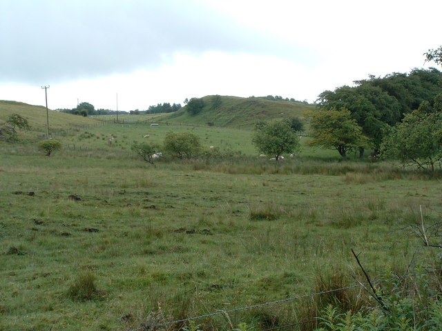 East from Roughrigg road