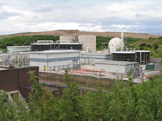 Wastewater Plant, New Ferry