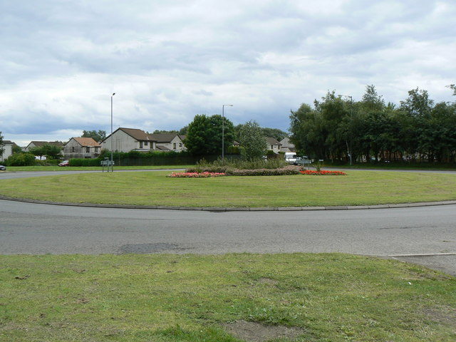 Antonshill roundabout