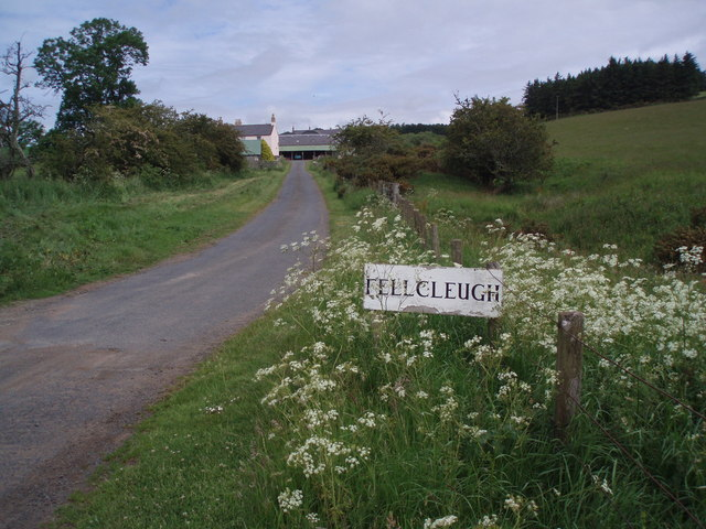 Fellcleugh farm,  Whiteadder valley