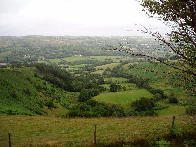 Valley near Llanarmon yn Iâl