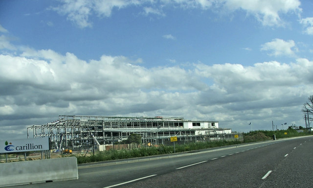 New Development near Junction 25 on M25/A10